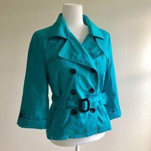 H&M mini trench coat